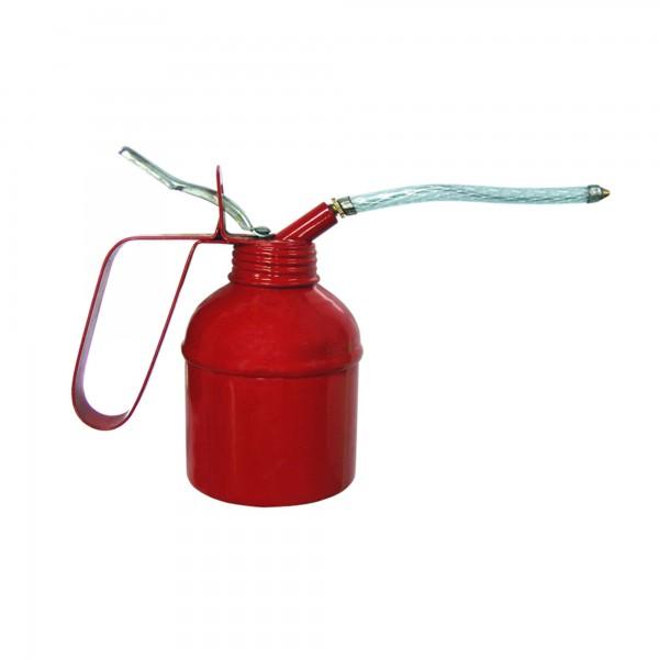 Aceitera metalica pulsador 300 ml.