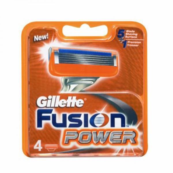 Gillette fusion power 4 recambios
