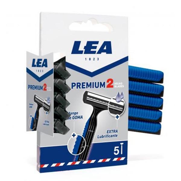 Lea premium cuchillas desechables