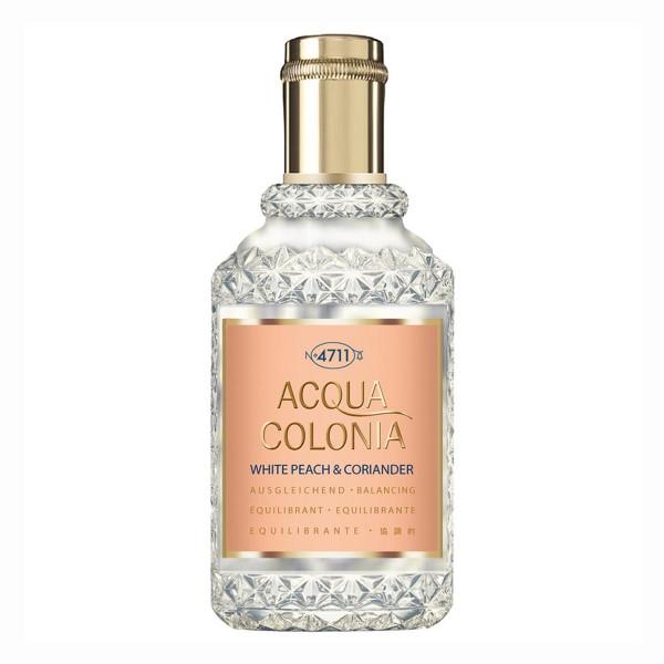 4711 acqua colonia white peach & coriander natural spray 50ml vaporizador