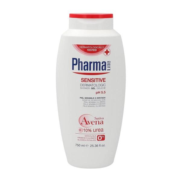 Pharmaline sensitive dermatologic shower gel 750ml
