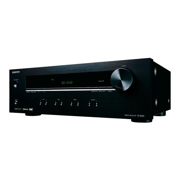 Onkyo tx-8220 negro receptor estéreo 100w bluetooth sintonizadores de radio