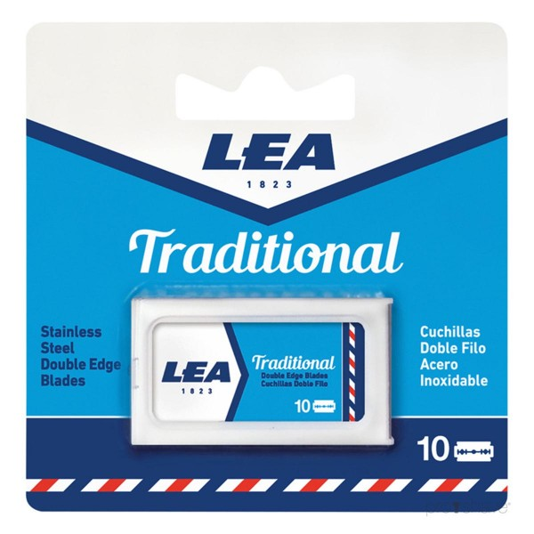 Lea traditional cuchillas doble filo