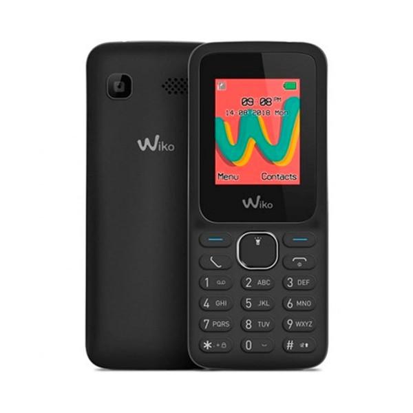 Wiko lubi5 plus negro móvil senior dual sim 1.8'' cámara bluetooth ranura microsd