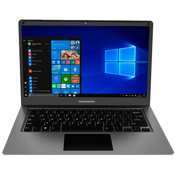 Thomson sp-neo14c-4tu-n gris portátil 14'' lcd led hd celeron-n3350 1.1ghz emmc64gb+ssd256gb 4gb ram windows 10 s